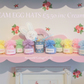 Cute Easter hanging bobble Egg Hats personalised Easter fun