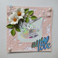 """WITH LOVE"" HAND MADE CARD FOR ANY OCCASION"
