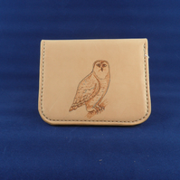 Large Coin Purse with Owl Design