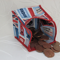 Coin Purse -  Origami Folding Purse - London Icons