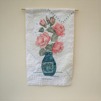 SALE - Pink Roses Hanging