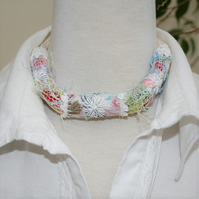Textile Embroidered Necklace