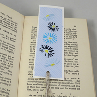 Recycled Envelope Embroidered Bookmark