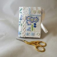 Patchwork needle book