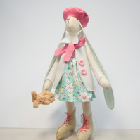 bunny, rabbit toy - handmade decoration