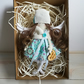Fabric Girl Angel Doll, Angel Art Doll, Rag Doll, Handmade Decoration