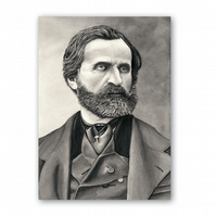 A5 Classical Music Father's Day Card - Verdi (F324)