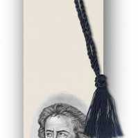 Classical Music Beethoven Bookmark from a drawing by Royden Price (F462)