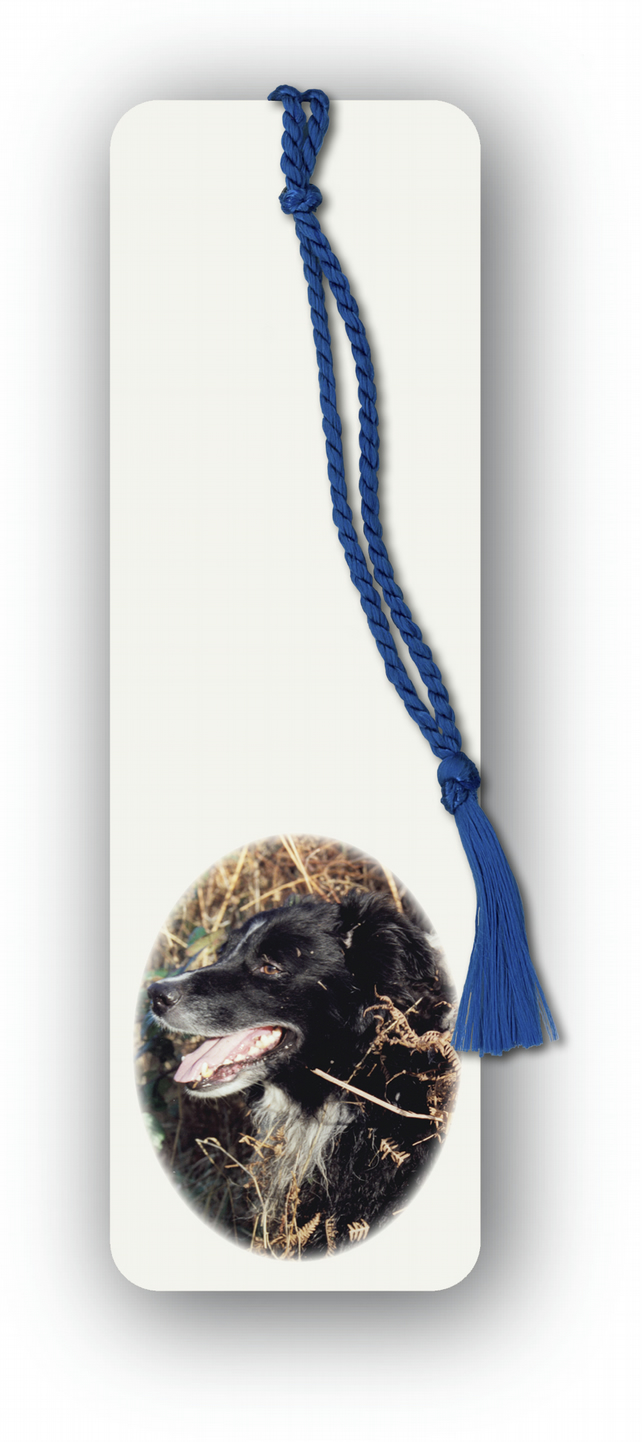 Farm Animal Dog Bookmark - Sheepdog Border Collie (F450)