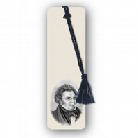 Classical Music Schubert Bookmark from a drawing by Royden Price (F464)