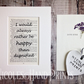 Gift Boxed Jane Eyre Print - Book Quote Print - Booklover Gifts - Literary Gifts