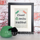 Irish Gaelic Welcome Picture - New Home Decor - Cead Mile Failte - Housewarming