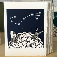 StarGazey Skies - Scorpio Zodiac Birthday Card (October 23-November 21)