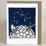 StarGazey Skies - Sagittarius Zodiac Birthday Card (November 22-December 21)