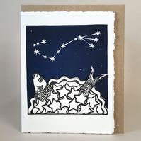 StarGazey Skies - Scorpio Zodiac Birthday Card (Oct 23-Nov 21)
