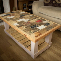 Up Cycled style coffee table