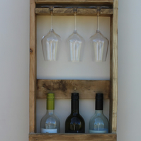 6 bottle wine rack (double 3)