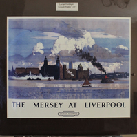 Liverpool Vintage Travel posters A3 size