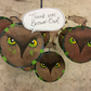Brown owl scout gift thank you girl scout leader man woman present gift wrapped