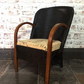 Lloyd loom style chair hand painted