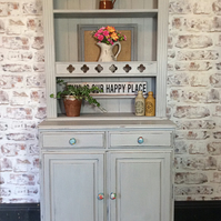Rustic Ducal country style kitchen dining dresser