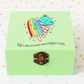Ice lollies Fun Box,wooden box,personalised, custom wodd box,jewellery storage