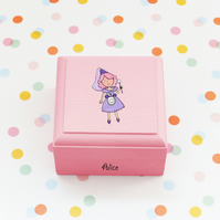 Toothfairy queen trinket box ,child tooth fairy box ,personalised tooth box