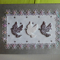 Christmas Dove Christmas Card