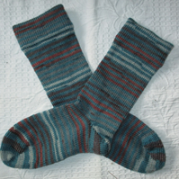 Handmade Alpaca Socks SIZE: 4-6 UK, 6-8 US, 36-38 EURO