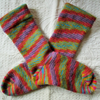 Handmade Angora Socks SIZE: 4-6 UK, 6-8 US, 36-38 EURO