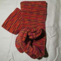 Handmade Angora Socks SIZE:  7-9 UK, 9-11 US, 39-42 EURO
