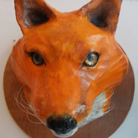 Fox faux head