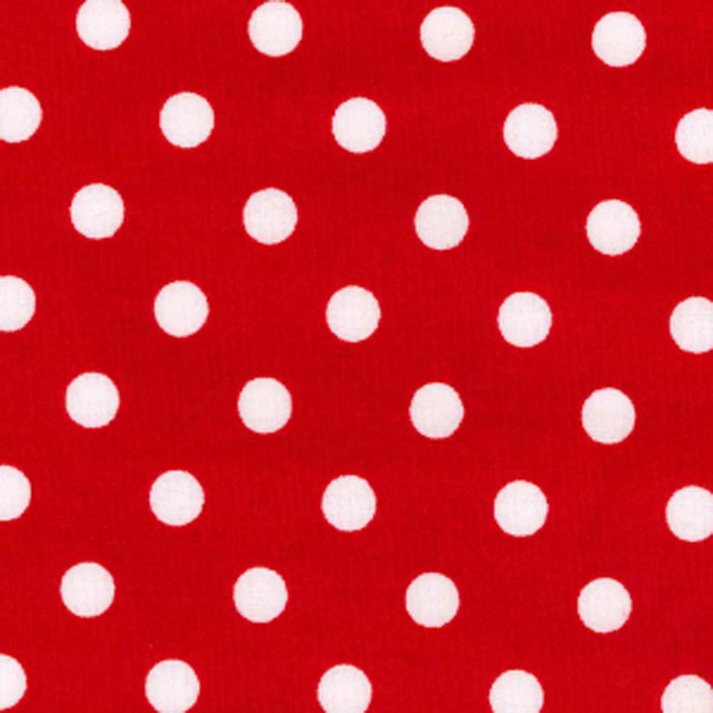 Shabby Chic Fabric - Red patchwork - By The Metre - Craft Fabric - Quilting