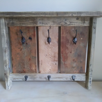 Reclaimed timber Coat Rack