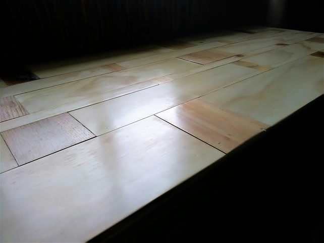 Reclaimed Timber and Ply Coffee Table