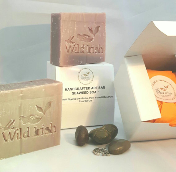 Seaweed Soap - Lavender with Oatsilk