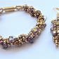 Bronzed Beauty Spiral Bracelet & Earring set,Gift for her