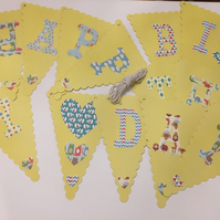 Colourful Children's Birthday Bunting