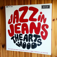 The Artwoods - Jazz In Jeans - 1965 -  Music Inspired Painting , Handpainted