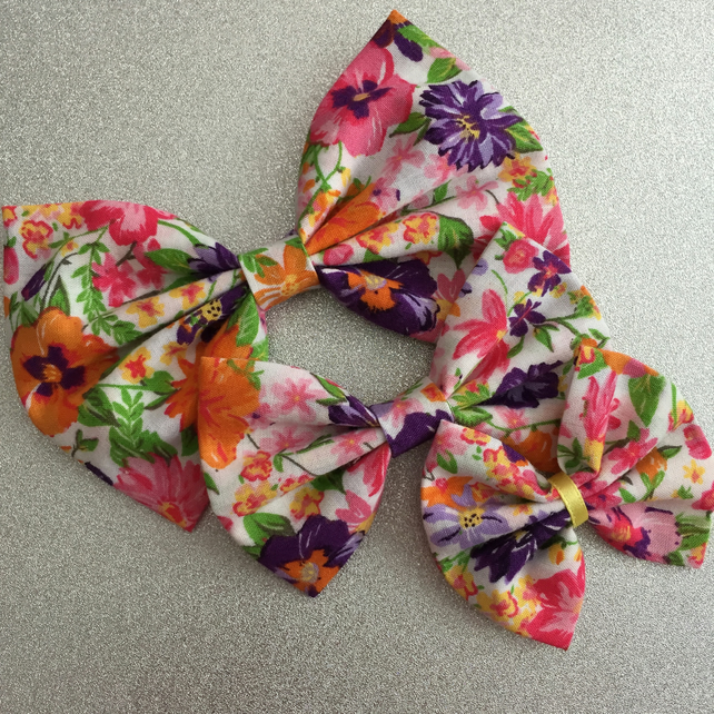 Handmade Hair Bows - Small Midsummer Bow