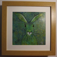 Green and Yellow Ochre Hare