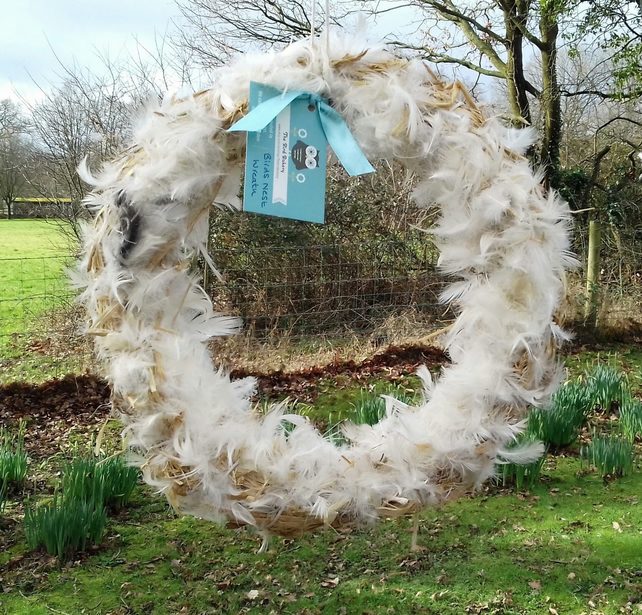 Birds Nest Wreath - Easter Wreath - Easter Decoration - Garden Spring Wreath