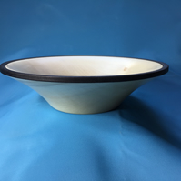 Sycamore Bowl with dark rim