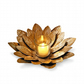 Lotus Design Leaf Style Candle Holder Stand Dinner Showpiece SRCH130