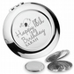 Personalised engraved 18TH BIRTHDAY compact mirror gift, cute bird - BD18