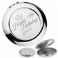 Personalised engraved 18TH BIRTHDAY compact mirror gift, princess - PR18