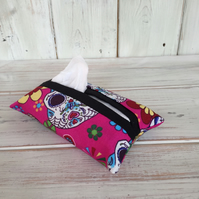 Union Jack Fabric Tissue Holder