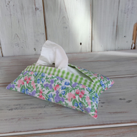 Floral Fabric Tissue Holder