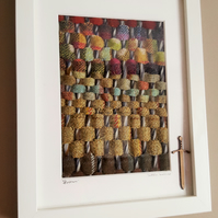 Tweed, Scottish. hand made woven picture