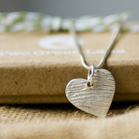 Contemporary Fingerprint Necklace
